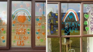 A window of positivity at Stanley care home