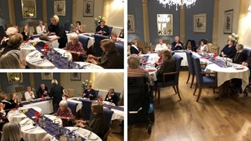 Burns Night commemorations at Henley-on-Thames care home
