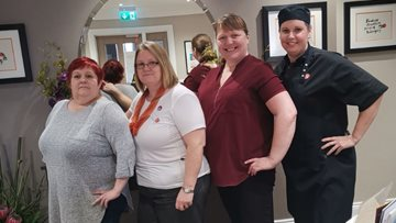 Peterlee care home team embarks on weight loss fundraising challenge