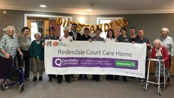 North Shields care home celebrates 'Outstanding' success in CQC report