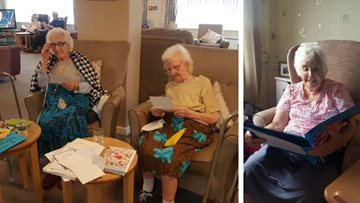 HC One - Residents become Pen Pals with local schoolchildren