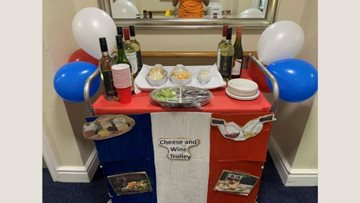 Wigan care home enjoys afternoon of French fun
