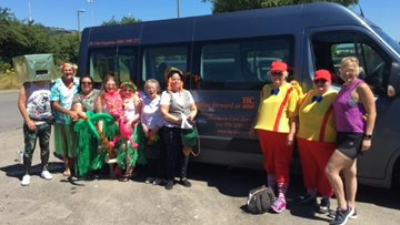 Caerphilly Care Home Staff Raise Funds for Home
