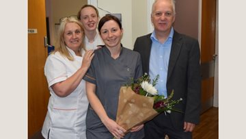 Hard work pays off for Linlithgow care home worker