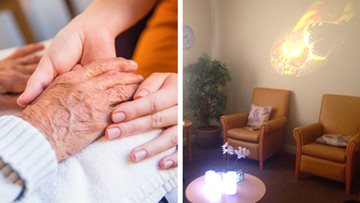 "Residents say ""Namaste"" as new holistic therapy introduced in Cheshire Care Home"