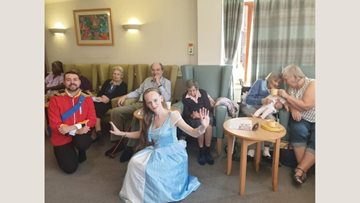 The show must go on at Fieldway care home