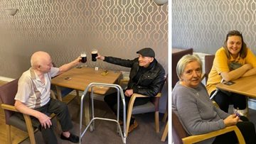 Residents trial new 'local' at Coventry care home