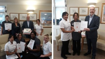 Dedicated Luton care home team members achieve 100 years of service