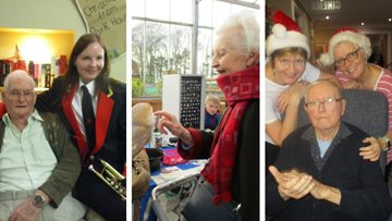 Festive fun for Guisborough care home Residents