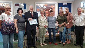Dementia Friends celebration at Redcar care home