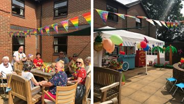 Summer celebrations at Hebburn care home