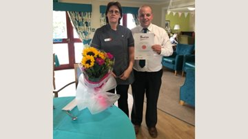 20 years' long service celebrated at Stornoway care home