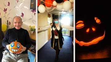Falkirk care home celebrate a Spooktacular Halloween weekend