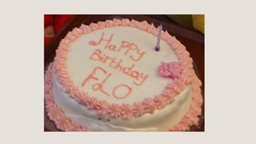 98th Birthday wishes for Clarendon Hall Resident Flo