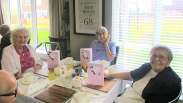 Mother's Day celebrations at Grampian Court