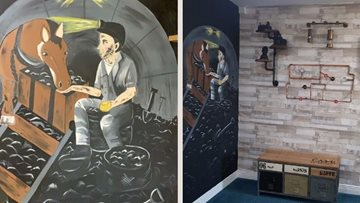 Ashington care home creates homage to mining history