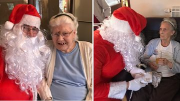 Christmas cheer for all to hear at Victoria Manor