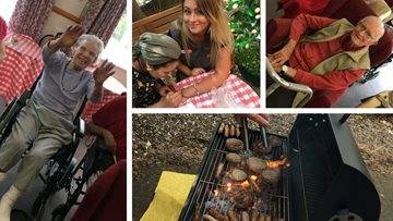 Wigston care home summertime celebrations