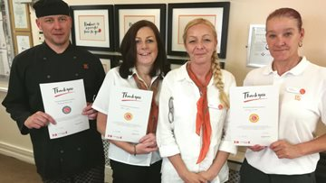 A Quarter Century Of Service For Colleagues At Rochdale Care Home