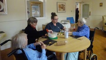 Stop the clock is a success at Goole care home