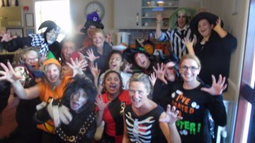Spooktacular day at Wednesbury care home