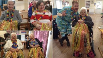 Elvis swings by Bristol care home for day of Rock 'n' Roll