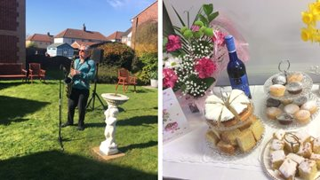 Rotherham Residents enjoy special treats for Mother's Day