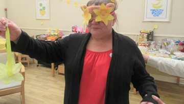 Roxburgh House supports Marie Curie Great Daffodil Appeal