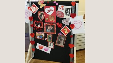 Valentine's Day marked by romantic gesture at Stoneyford