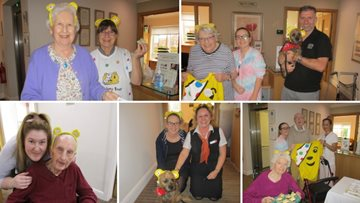 Residents raise money for Children in Need