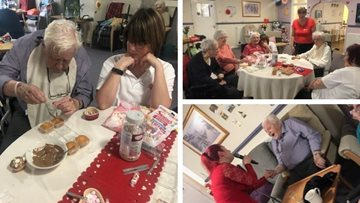 Love is in the air at Ilkeston care home