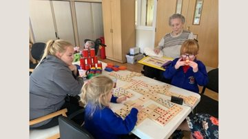 Community connections at Wigan care home