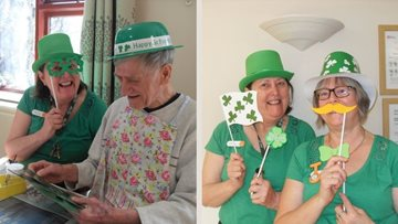 Whittlesey care home celebrates St Patrick's Day