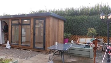 New visiting pod at Leicestershire care home