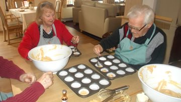 Moss Park's Residents enjoy a bake off