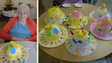 Stoke-on-Trent care home get creative in Easter bonnet competition