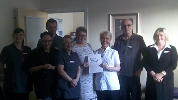 Wallasey care home team receive award for kindness