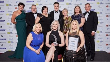 HC-One wins prestigious learning and development award at Skills for Care Accolades