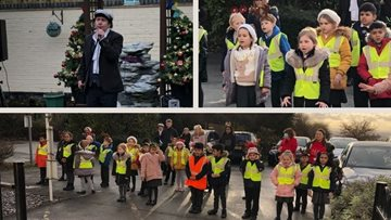 Tividale home welcomes primary school choir sing-along