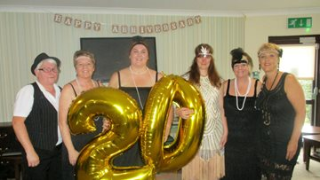Skewen care home celebrates 20 years of service