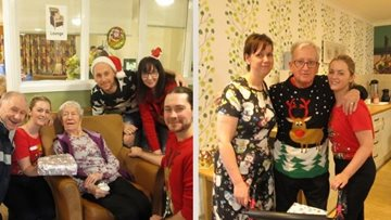 Bonnyrigg care home enjoys traditional Christmas Day