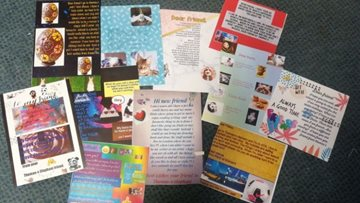 Letters from local school delivered to Sheffield care home