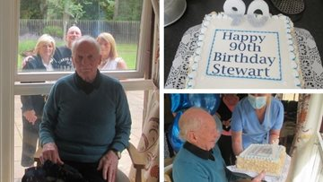 90th birthday celebrations at Dundee care home