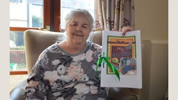 Hayes care home Resident creates own cookbook