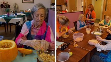Spooktacular soup at Essex care home