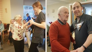 Burns Night celebrations at Glenrothes care home