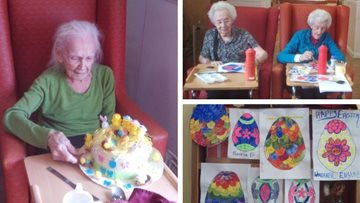 Easter fun at Manor Park care home