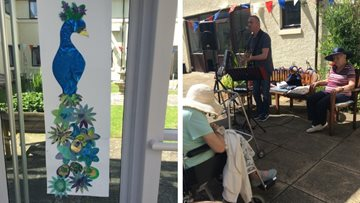 Edinburgh care home celebrates the power of art