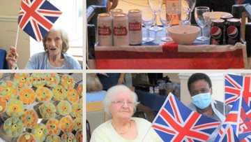 75th Anniversary of VJ Day at Seabrooke Manor care home