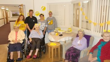 Durham care home raises money for Children in Need